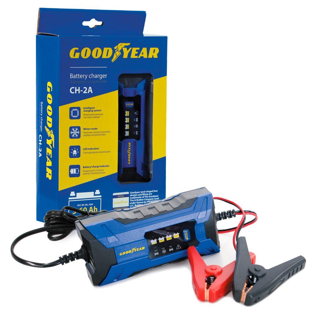 Зарядное устройство электронное Goodyear CH-2A