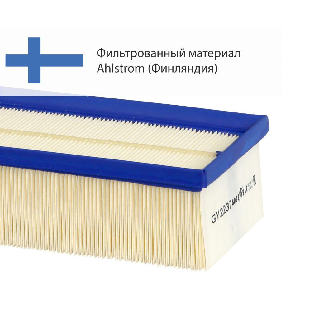 фильтр воздушный goodyear